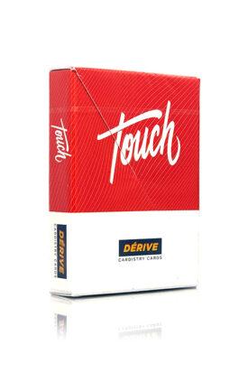 Kortstokker med rød emballasje