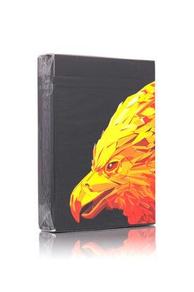 kortspill med bilde av et phoenix